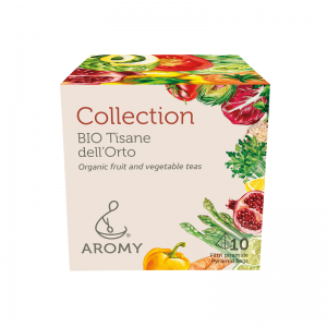 Collection tisane biologiche di verdure Aromy fronte