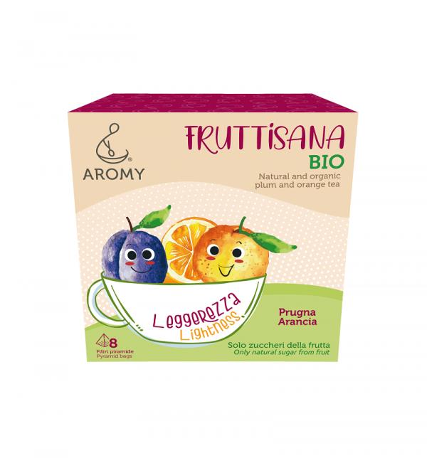 FRUTTISANA Leggerezza Aromy con frutta biologica fronte