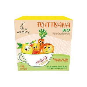 FRUTTISANA Vitalità Aromy con frutta biologica fronte