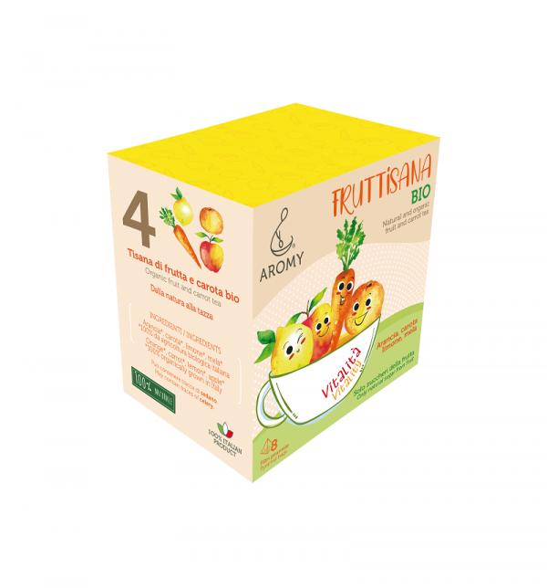 FRUTTISANA Vitalità Aromy con frutta biologica lato