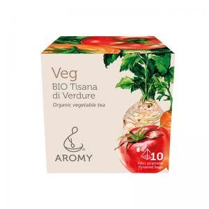 Tisana di verdure biologiche VEG Aromy fronte